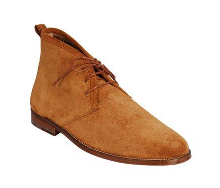 dbe01d5c0453 Hnědé pánské kotníčkové boty s kožíškem Bobbies Paris Le Monsieur ...
