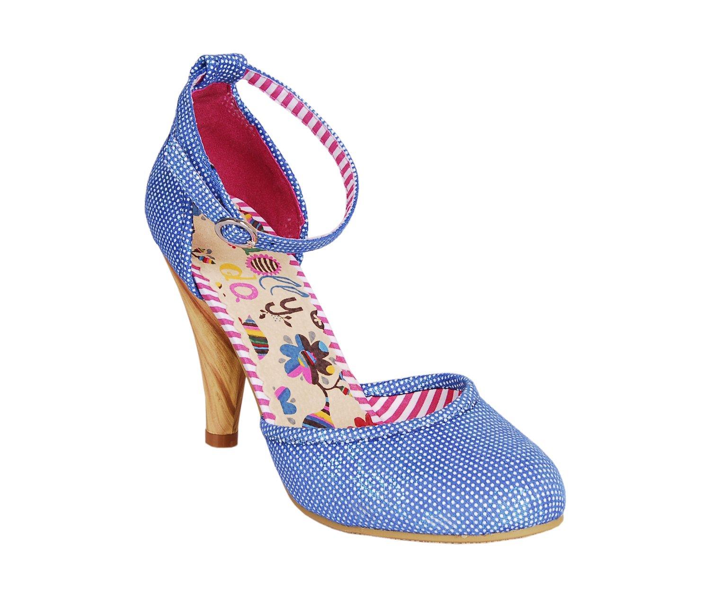 Modré dámské lodičky Dolly Do Tay S13 Blue  2176985486