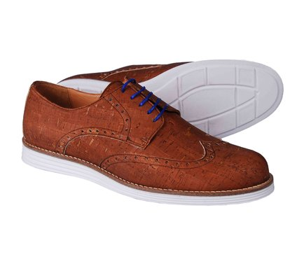 Pánské stylové kožené boty typu brogue Rutz Oxford Casual Beige ... 5d8aa39c56